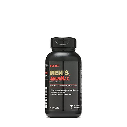 GNC Mens Arginmax Sexual Health Supplement for Men, 90 Count, Supports Blood Flow and Vitality