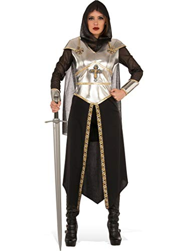 Female Knight Costume (Rubie's Costume Co Women's Medieval Warrior Costume, As Shown,)