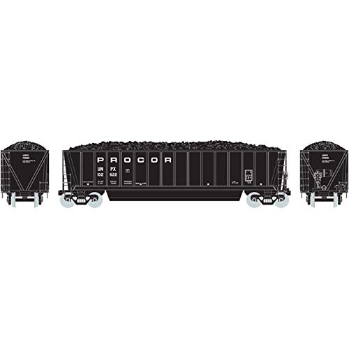 - Athearn HO RTR Bathtub Gondola w Coal Load Procor #102622