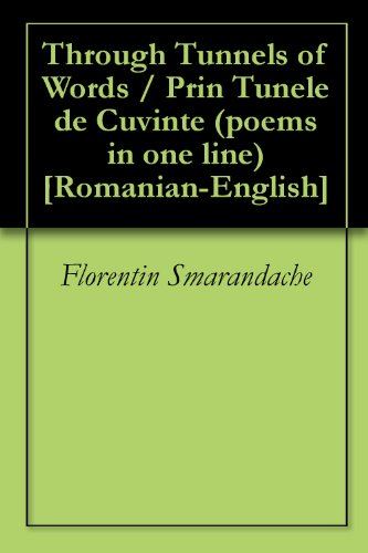Through Tunnels of Words / Prin Tunele de Cuvinte (poems in one line) [Romanian-English]