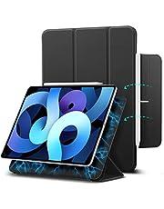 "ESR Magnetic Case for iPad Air 4 Case, iPad Air 4th Generation Case, iPad 10.9"" 2020 Case/iPad Pro 11"" 2018 Case [Convenient Magnetic Attachment] [Trifold Smart Case] Rebound Series,Black"