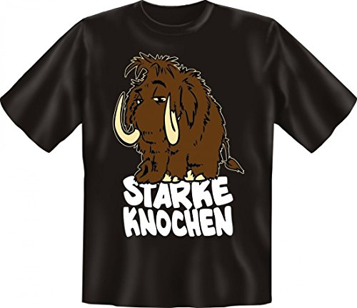 Fun T-Shirt: Starke Knochen - lustiges Geschenk mit Spaß und Humor - S bis 5XL