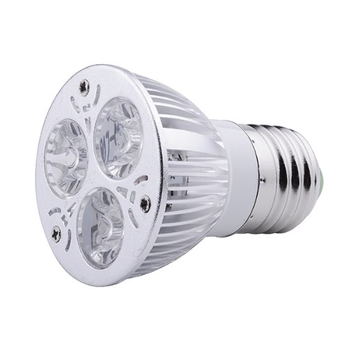 Zyurong® 9W E27-Lote de 10 bombillas LED, 540lm, color blanco,