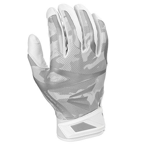 - Easton Z7 Hyperskin Batting Pair Gloves, White, Small