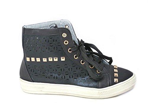 SKOS , Damen Sneaker Black (5213-23)