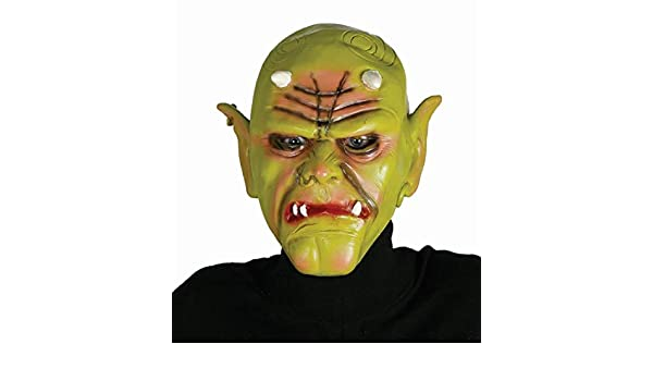 Guirca 2485 - Mascara Orco Verde Latex: Amazon.es: Juguetes y juegos