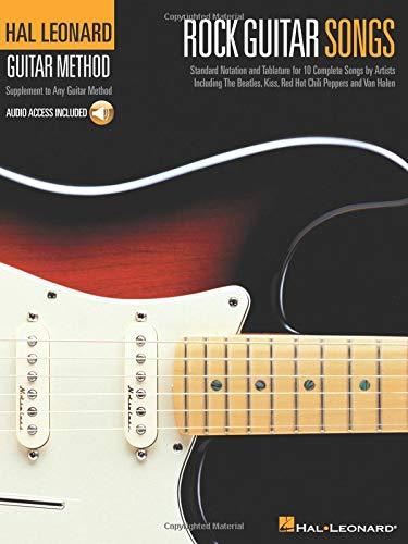 Hal Leonard Guitar Method: Rock Guitar Songs Book/CD: Amazon.es ...