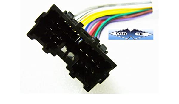 amazon com: stereo wire harness mitsubishi outlander 03 04 05 (car radio  wiring installat : automotive
