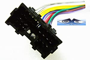 41NN9YZ4pUL._SX300_ amazon com stereo wire harness mitsubishi eclipse 02 03 04 (car how to install wire harness car stereo at bayanpartner.co