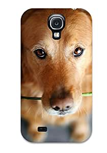 Fashion Tpu Case For Galaxy S4- Cute Pictures Of Dogs Defender Case Cover