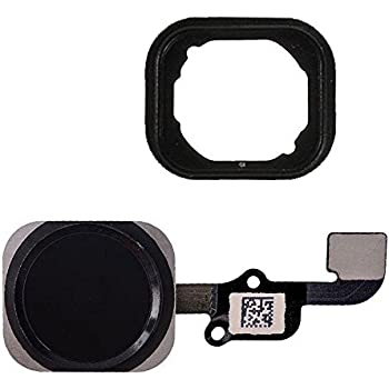 lovely iPhone Touch ID Sensor Home Button Key Flex Cable Replacement for iPhone 6 & 6 Plus White