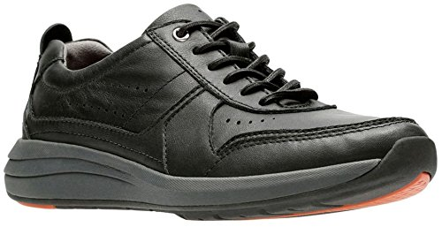 cheap sale marketable outlet discount CLARKS Mens UnCoast Form Black Leather free shipping Manchester cheap top quality Aekhvi8xC