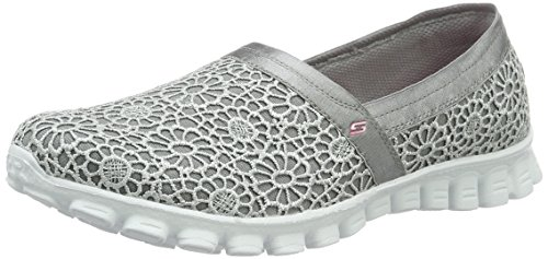 Grigio Gry Ez Flex Make Skechers Donna 2 Mocassini Believe 0vw118