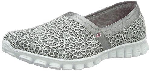 Skechers Damen Ez Flessibile 2-finzione Grau Pantofola (gry)