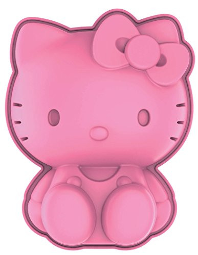Siliconezone SZ14KS-11990AA Hello Kitty Mini Pan, Pink