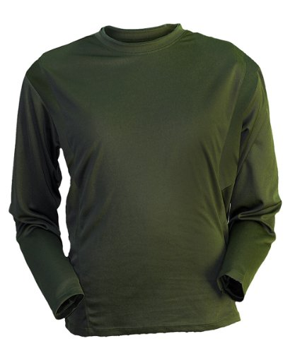 Gamehide ElimiTick Long Sleeve Tech Shirt Loden Green, Size-L