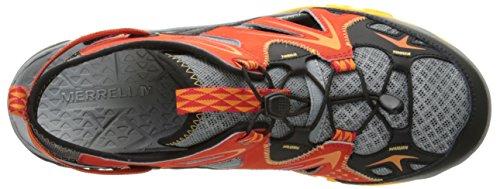Merrell Mens Capra Rapid Sieve Water Shoe Bright Red Fnm18U