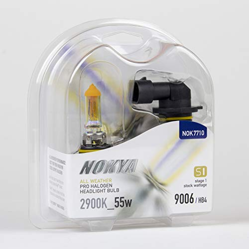 Nokya 9006/HB4 All Weather Headlight Bulbs 2900K 55W (Stage 1) ()