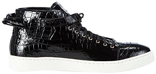 Hemsted & Figli Hightop Sneaker Schwarz