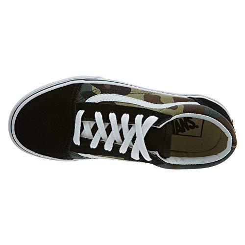 Low Woodland Sneaker Skool Vans Old Camo top Black Bambino Unisex nqRxOU