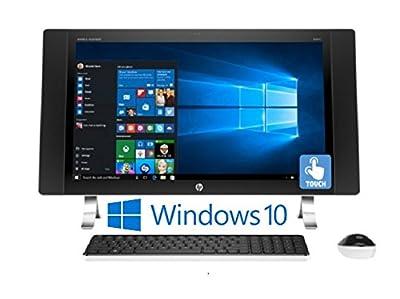 "HP ENVY 27-p014, 27"" IPS Full HD (1920 x 1080) Touchscreen, Intel Core i5-6400T, 12GB, Windows 10 All-in-One Desktop PC (Certified Refurbished)"