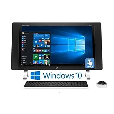 HP ENVY 27-p014 27 IPS Full HD (1920 x 1080) Touchscreen, Intel Core i5-6400T, 12GB, Windows 10 All-in-One Desktop PC (Certified Refurbished)