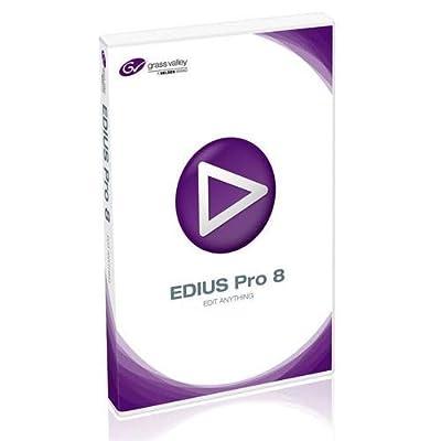 Grass Valley EDIUS Pro 8 Nonlinear Editing Software, Educational, Boxed (DVD)