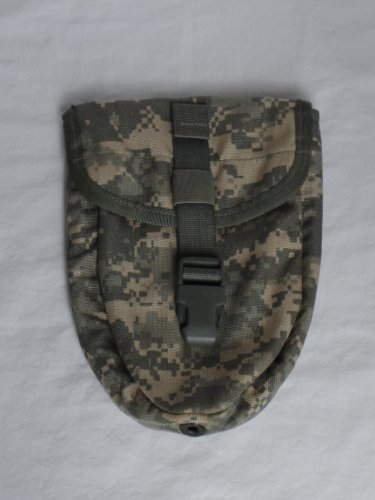 GI Military MOLLE II Entrenching Tool Cover – ACU Digital Camouflage, Outdoor Stuffs