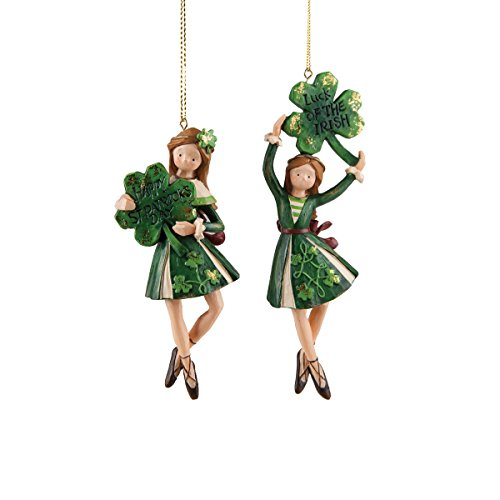Irish Dance Ornament , Assorted of 2