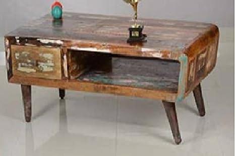 GELUSA Mueble para Televisor o Mesa de café Vintage Muebles Antiguos, antiguedades: Amazon.es: Hogar