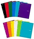 Five Star Pocket Folders, 4-Pocket, 12-1/2'' x 9-1/2'', Assorted Colors, 12 Pack