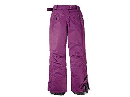 Damen Skihose Snowboardhose Schneehose violett (38)