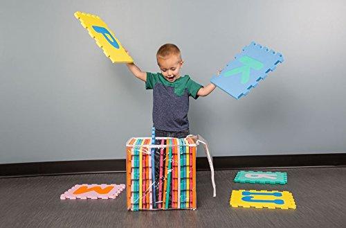 Soft Foam Alphabet Baby Puzzle Play Mat - 26 Letter Set