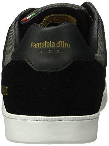 Canvas d'Oro Prato Baskets Noir Low Homme Men Pantofola E6qwC4HE