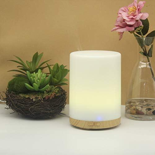 Healifty 200ml Holz Basis Aromatherapie ätherisches Öl Diffusor mit EU-Stecker