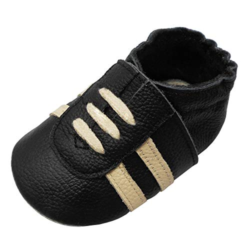 Pictures of YIHAKIDS Baby Sneaker Genuine Moccasins Multi-Colors 1
