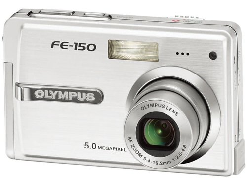 OLYMPUS デジタルカメラ CAMEDIA FE-150