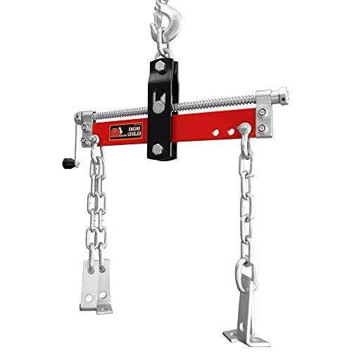 Torin Big Red Engine Hoist / Shop Crane Accessory: Steel Engine Leveler, 3/4 Ton (1,500 lb) Capacity