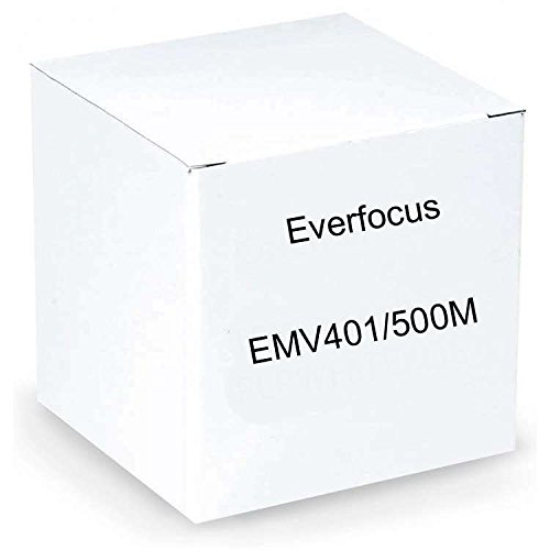 Everfocus EMV401/500M Hybrid Mobile Digital Video Recorder with GPS, 3G and Wi-Fi Capabilities, 4 Channel, 500MB Storage Capacity