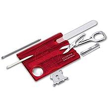 Swisscard Suiço Victorinox Nailcare Vermelho Translúcido 0.7240.T