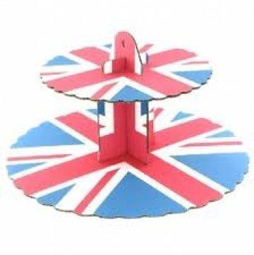 union jack cupcake - 9