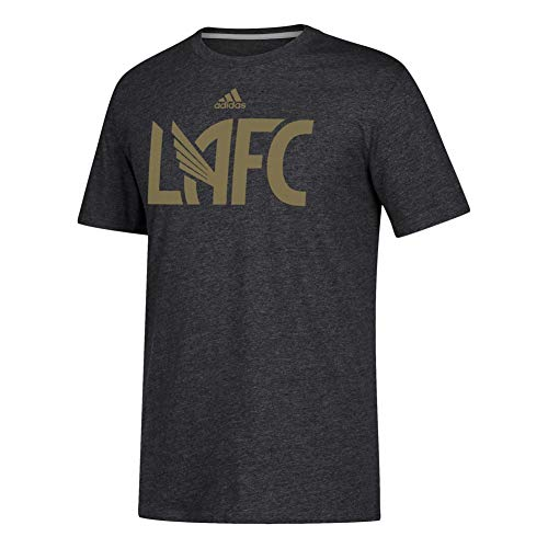 adidas Los Angeles FC Men's Locker Room Heathered T-Shirt (XX-Large)