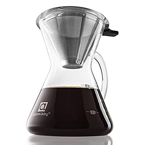 Apace Living Pour Over Coffee Maker (400 ml / 13.5
