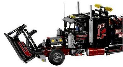 Lego technic 8285 tow truck heavy load flat bed truck with motor - Lego Technic Tow Truck 8285 Toys For Building