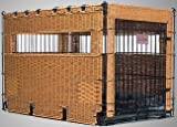Bay Isle Collection Dog Crate : Size MODEL 1836