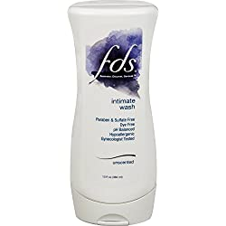 FDS Feminine Wash, Unscented, 13oz, For All-Day Freshness