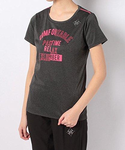 純正地味なコイン(ナンバー) Number UVカット RUN ロゴプリントTシャツ S グレー