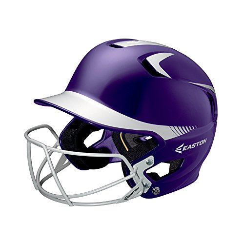 Easton Junior Z5 2Tone Batters Helmet with BBSB Mask