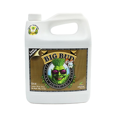 Advanced Nutrients 5070-12 Big Bud Coco, 250 mL, 0.25 Liter, Brown/A