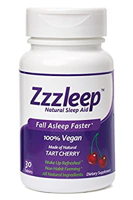 Zzzleep Natural Sleep Aid - #1 Best Sleep Aid For Adults - 100% Vegan Formula